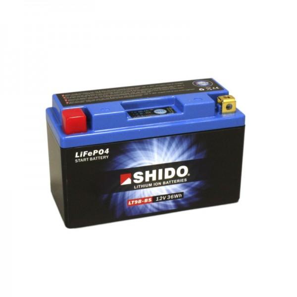 SHIDO LT9B-BS LION -S- Μπαταρία λιθίου-(YT9B-BS)