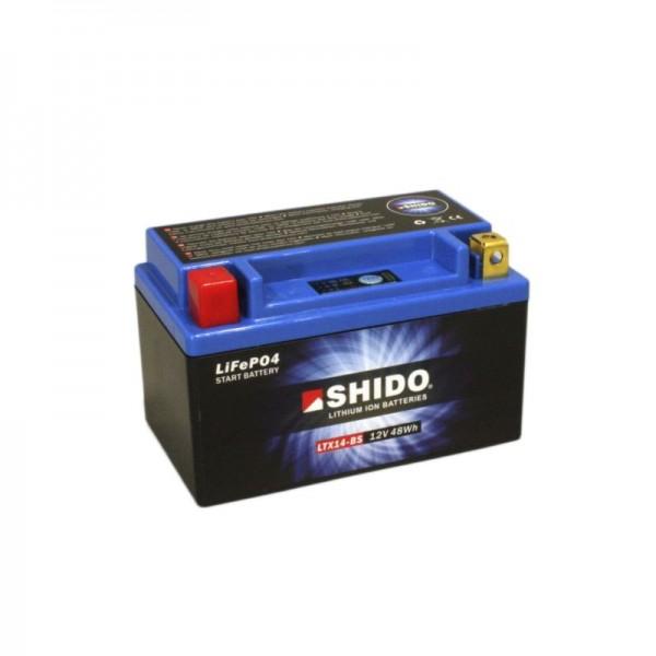 SHIDO LTX14-BS LION -S- Μπαταρία λιθίου-(YTX14-BS)