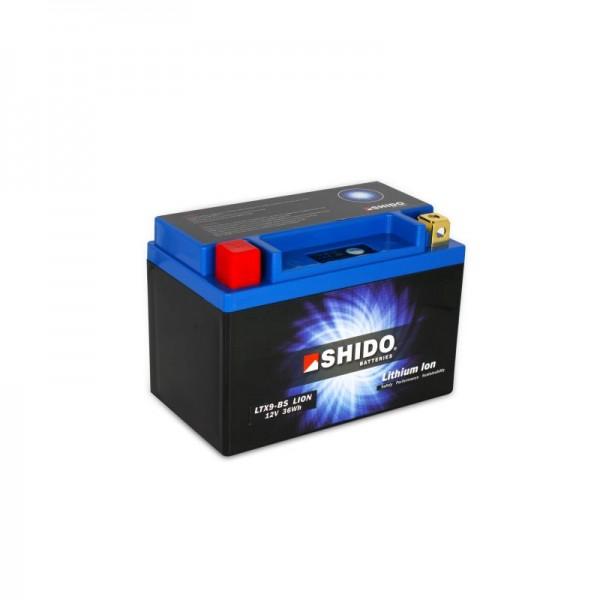 SHIDO LTX9-BS LION -S- Μπαταρία λιθίου-(YTX9-BS)